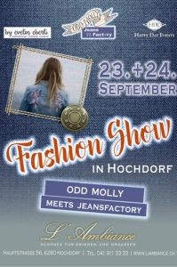Fashion Show in Hochdorf